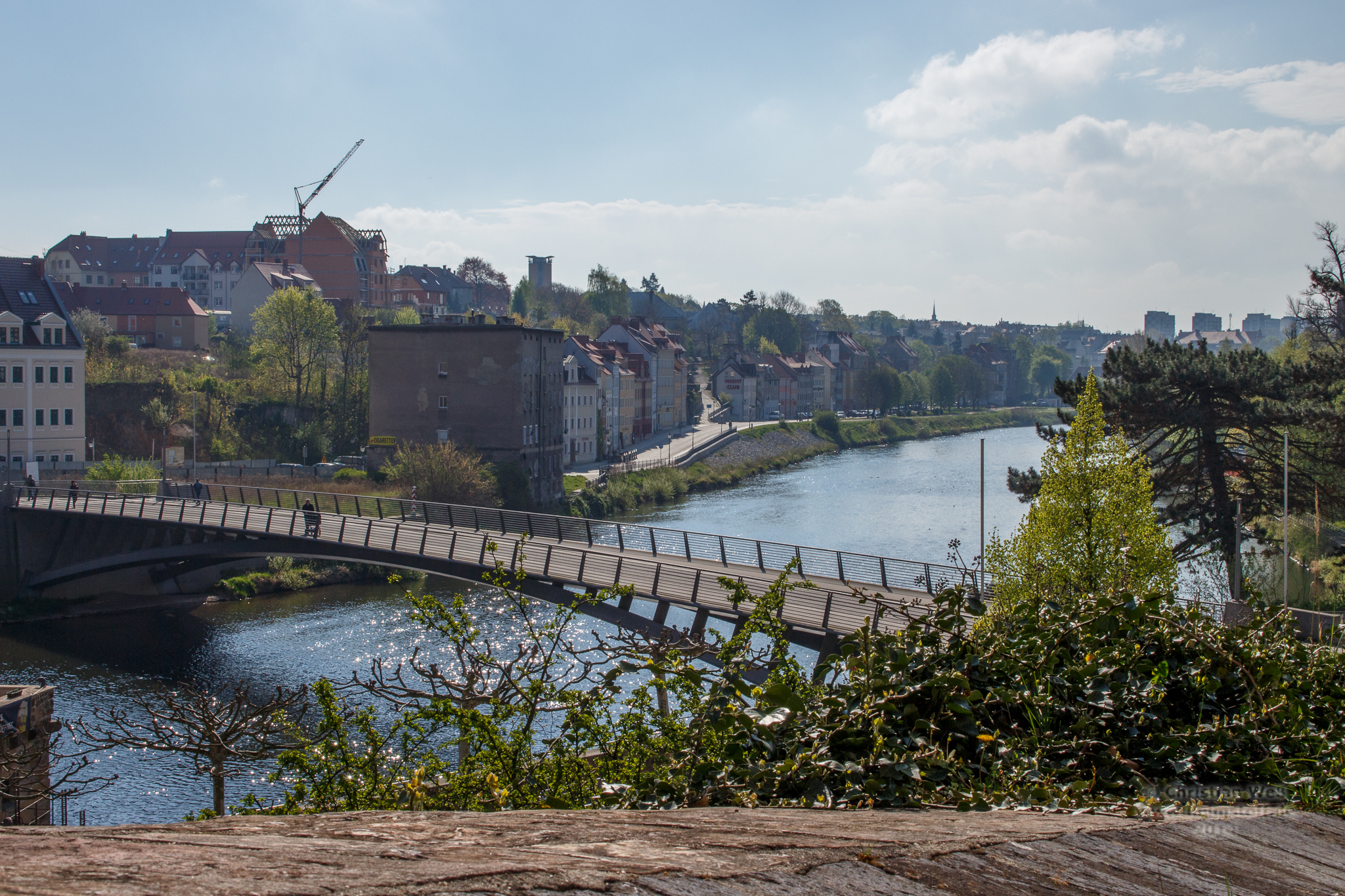 Altstadtbrücke und Neiße