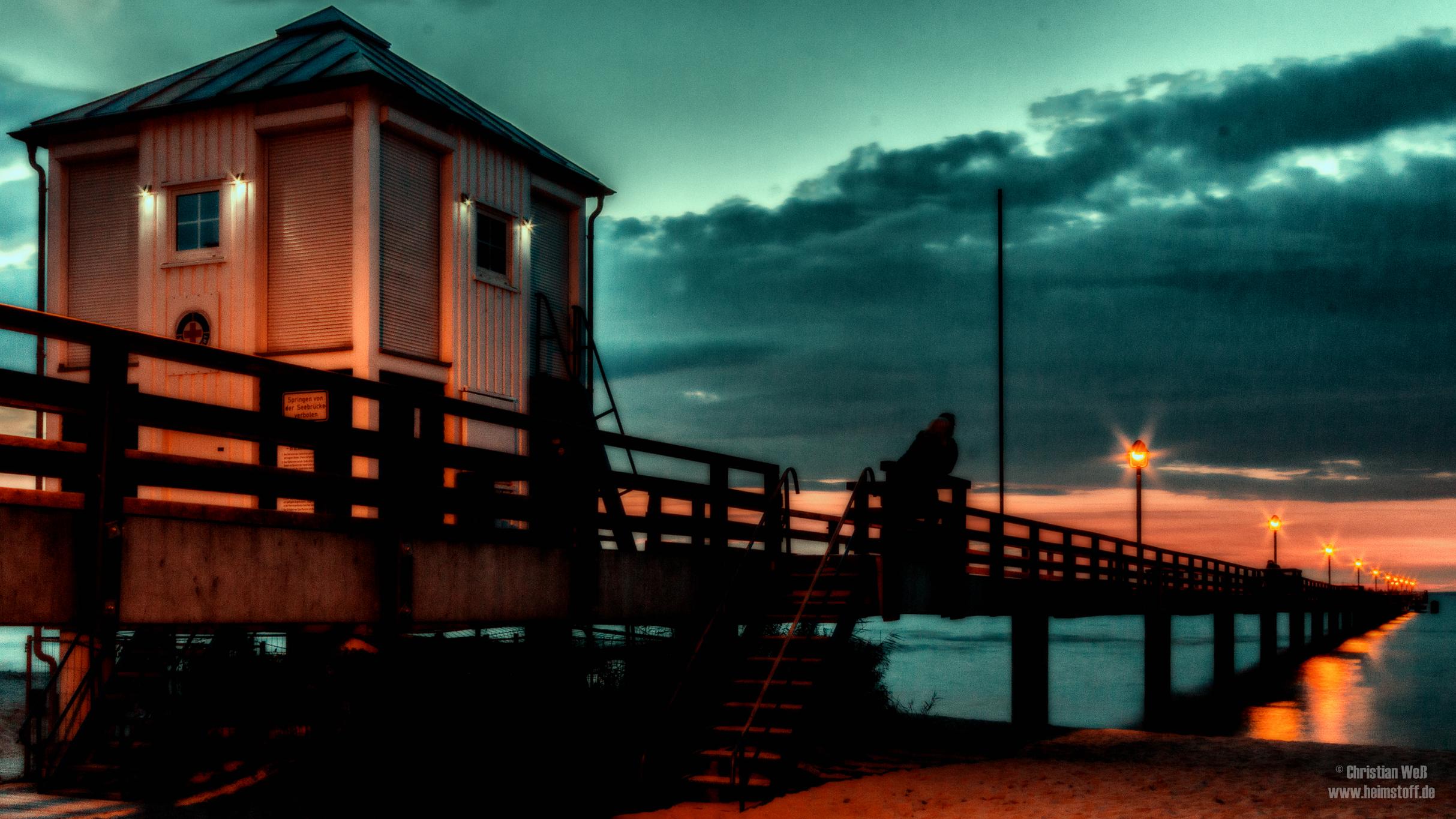 Seebrücke Lubmin.