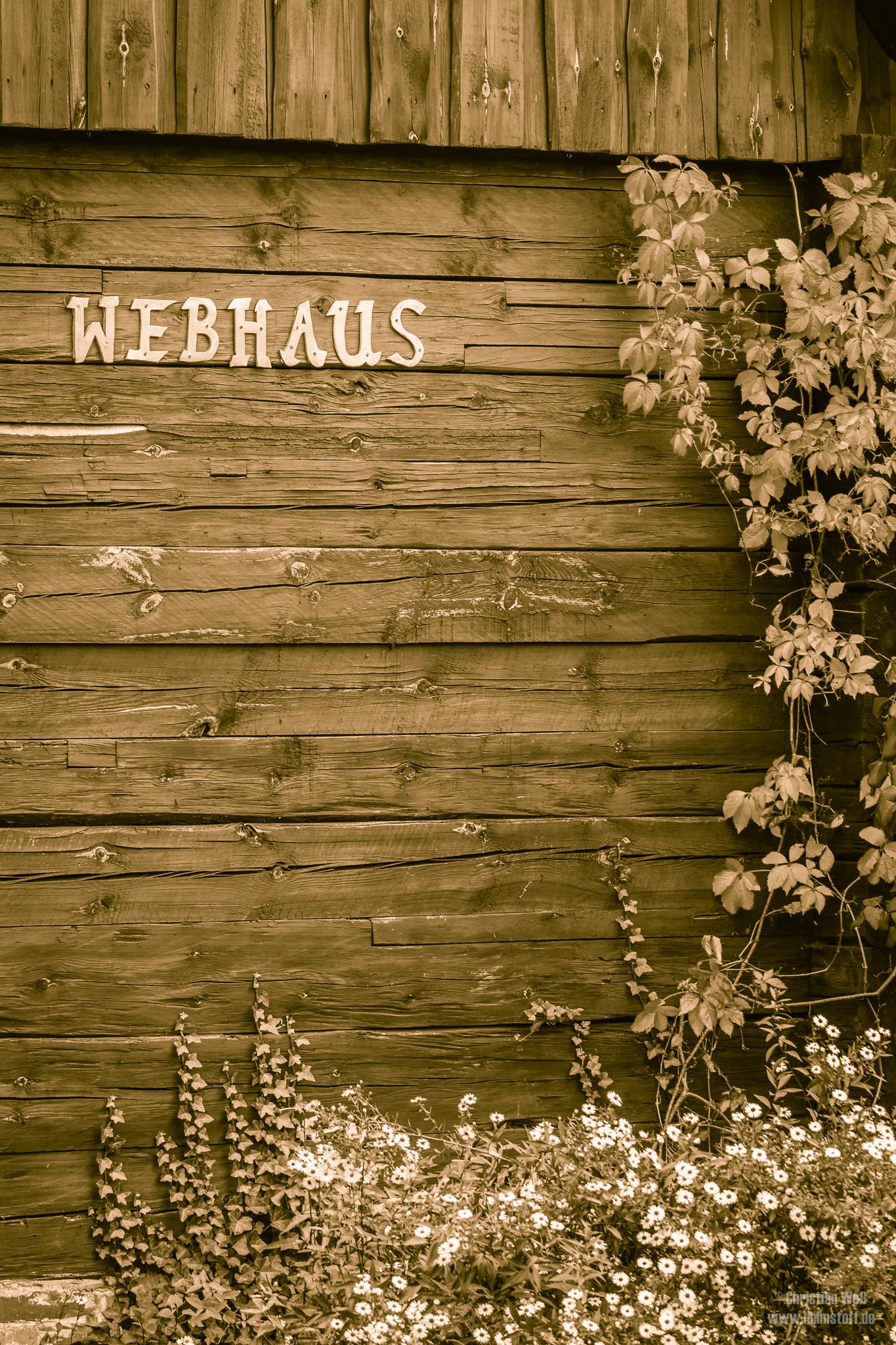 Das Webhaus.