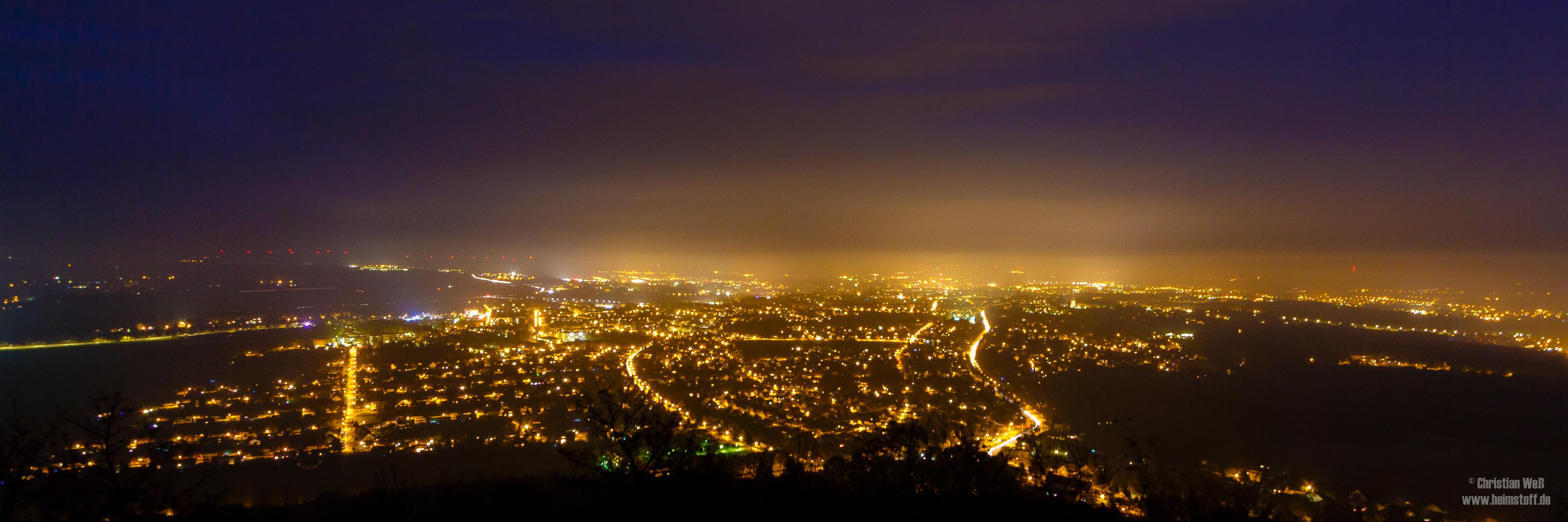 Blick über Sin City.