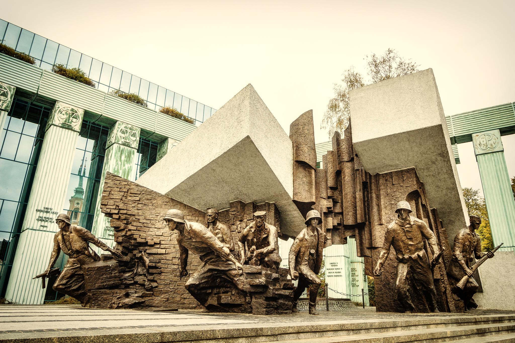 Denkmal für die Helden des Warschauer Aufstandes