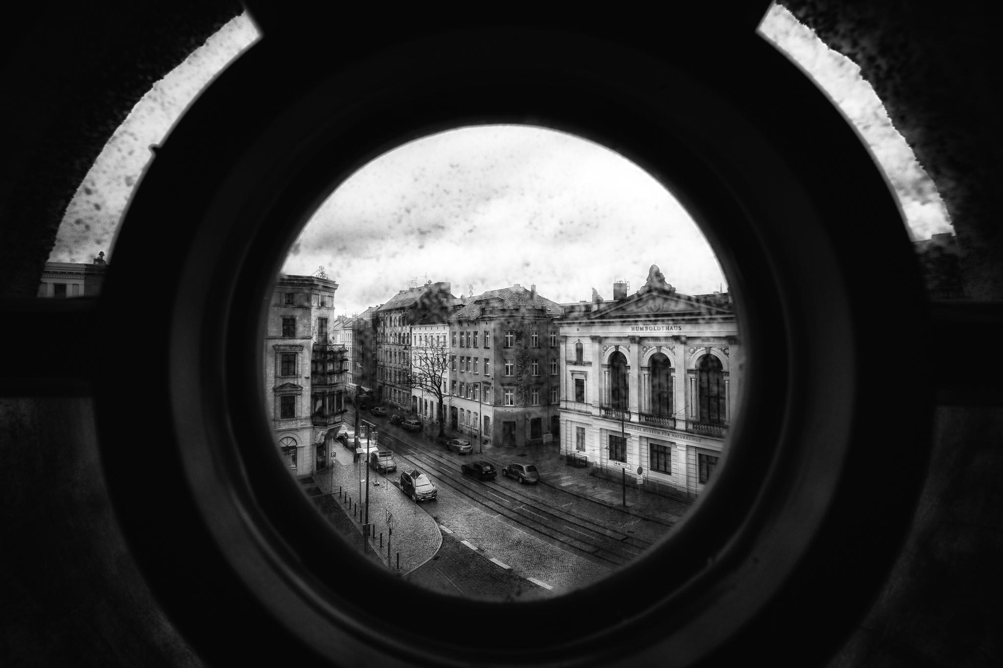 Blick auf das Humboldthaus