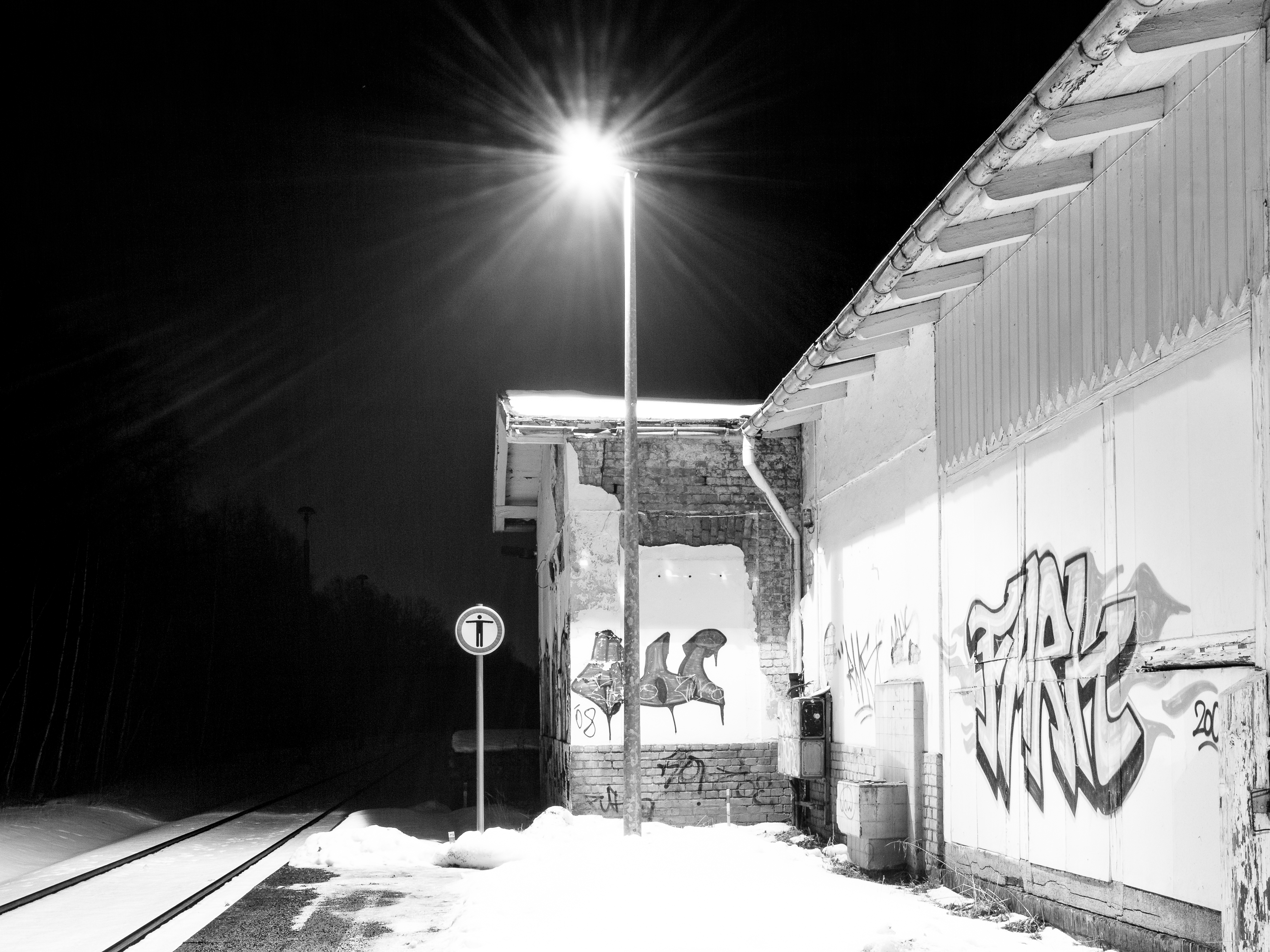 Abend am Südbahnhof II