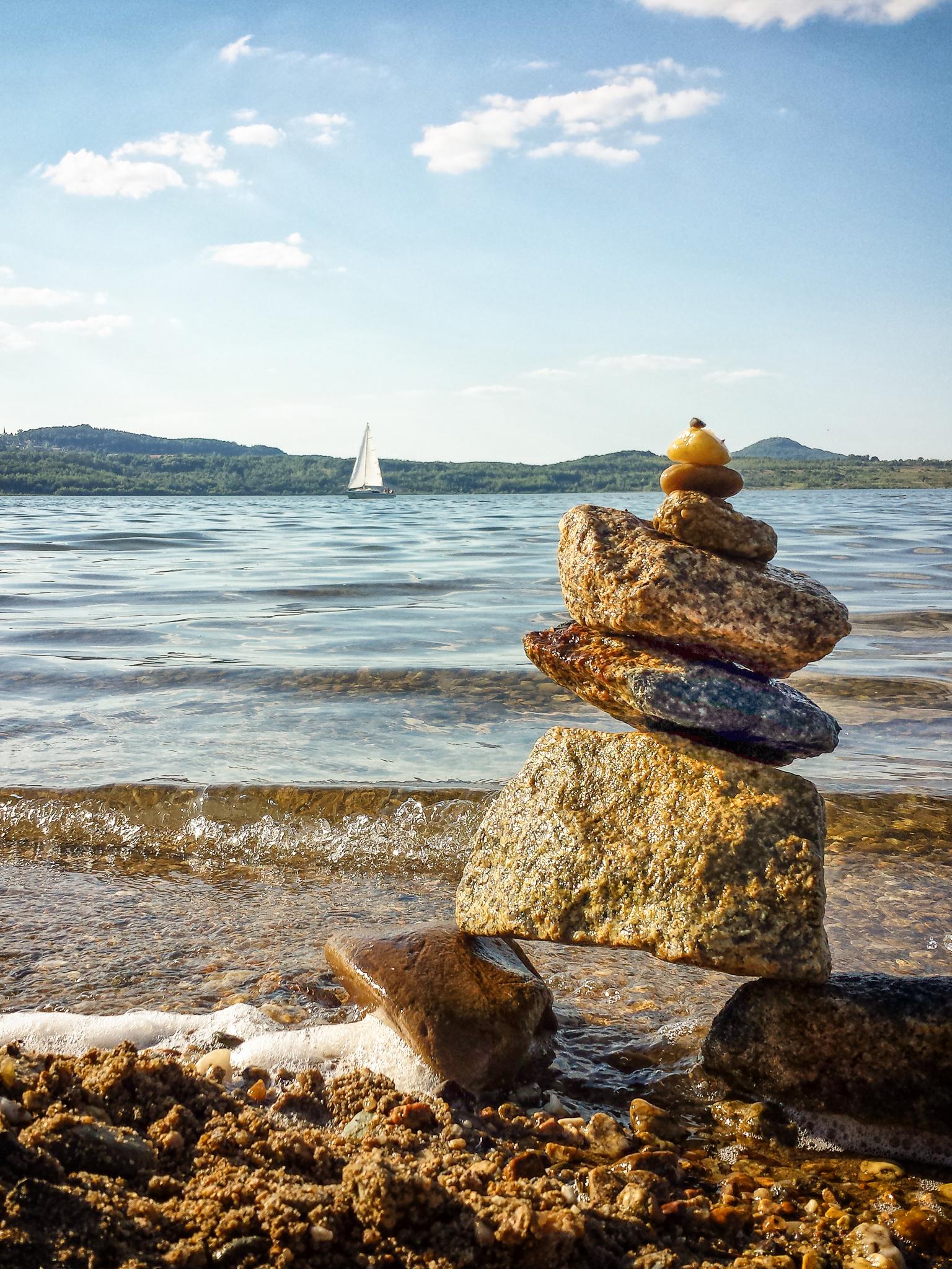 In Balance.