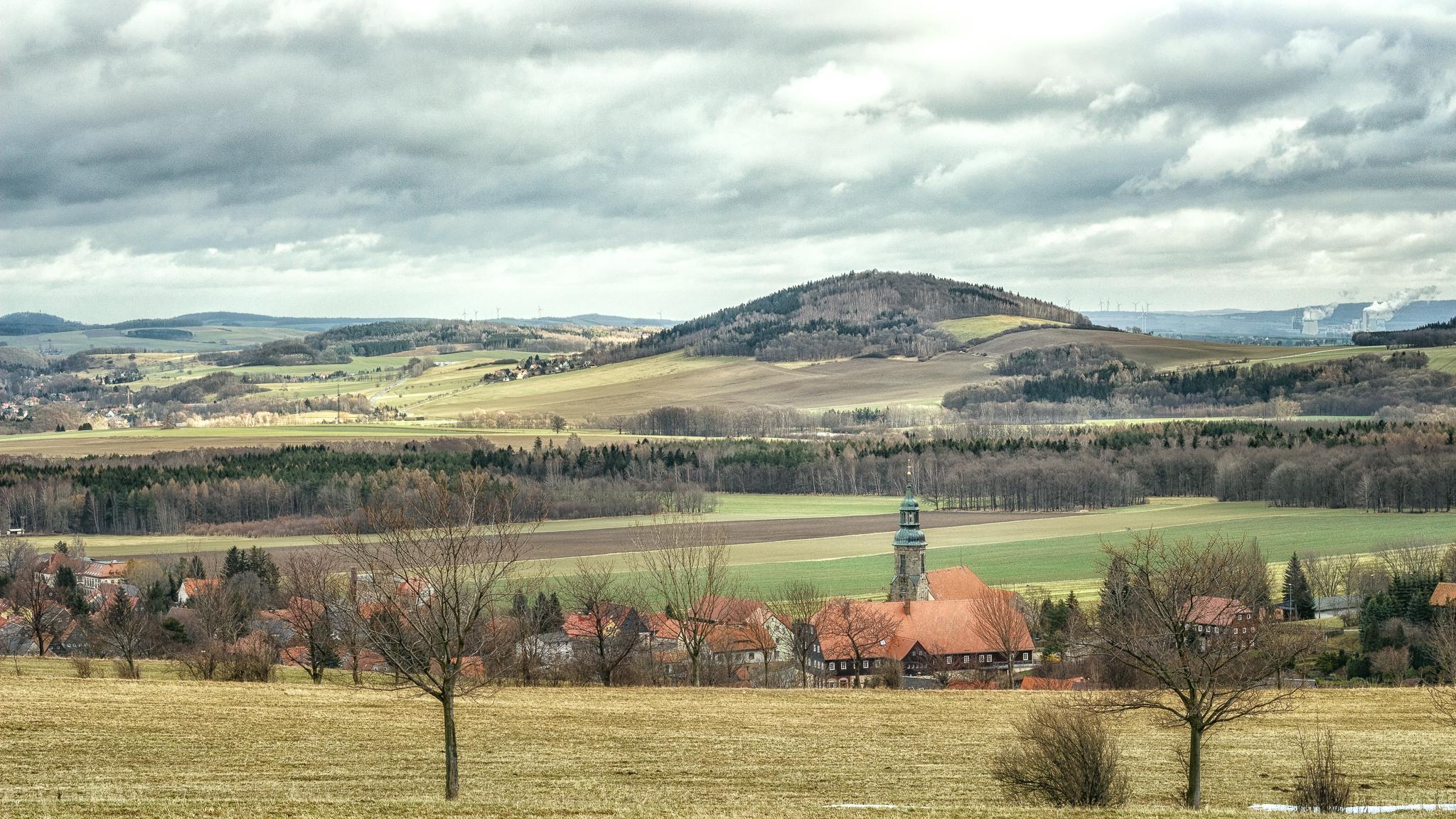 Blick auf den Breiteberg.