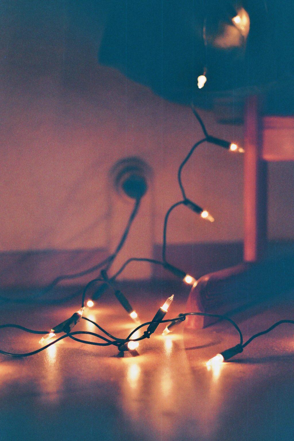 Lichterkette.