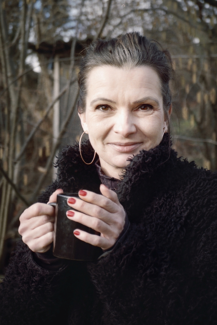 Kompatkkamera-Porträt.